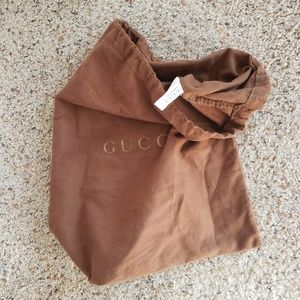 2d156b79c1f3 Gucci Bags - MOVING SALE! Gucci Dust Bag/Shoe Bag